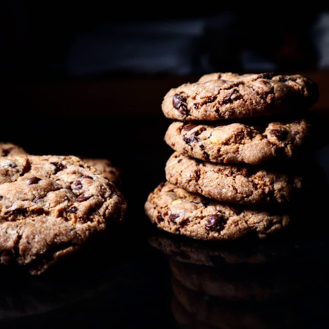 chocolate cookies senza uova croccanti e friabili