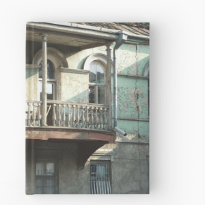 Balcony of home in Old City, Tbilisi, Georgia