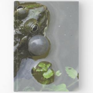 Hardbound Journal - Croaking Frog