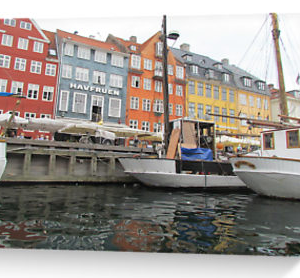 Copenhagen canal, Denmark