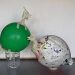 Perlhüner - Konstruktion aus Balonn