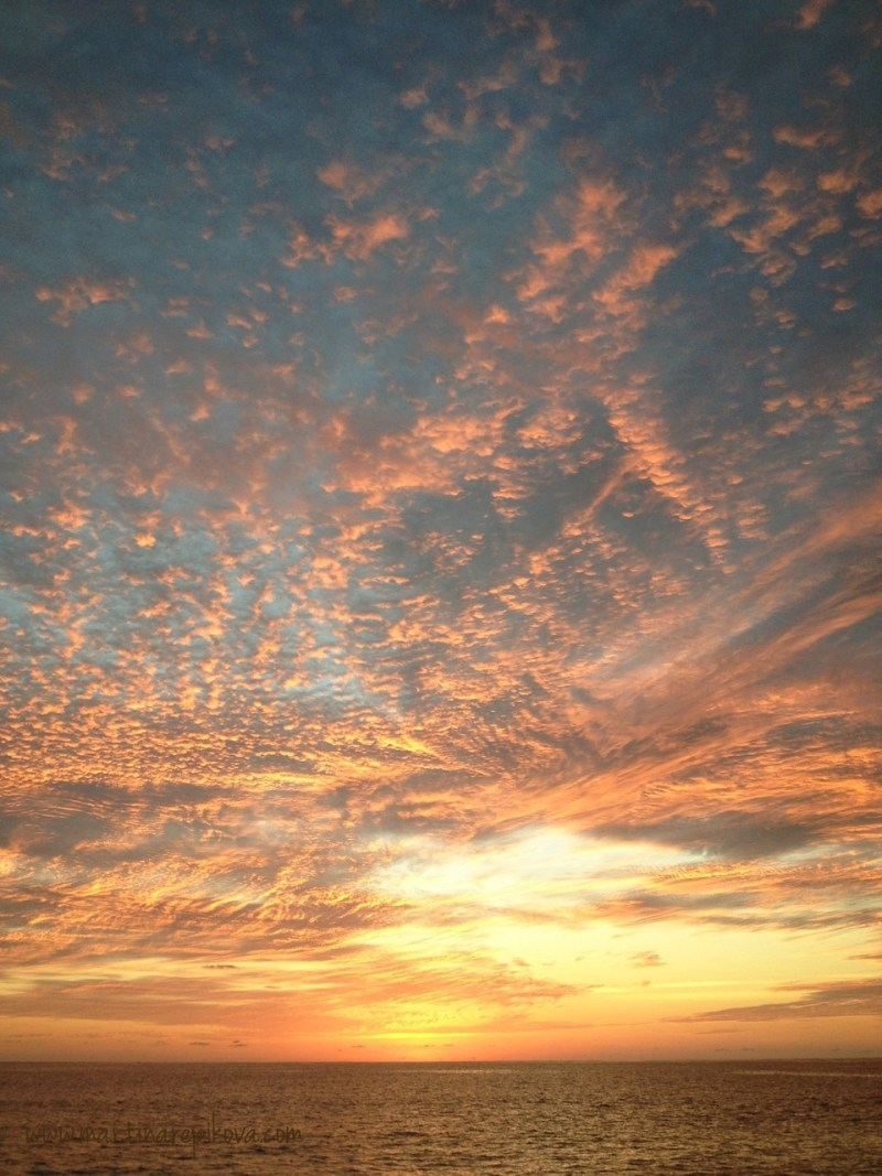 Anse Intendence sunset, Mahe, Seychelles