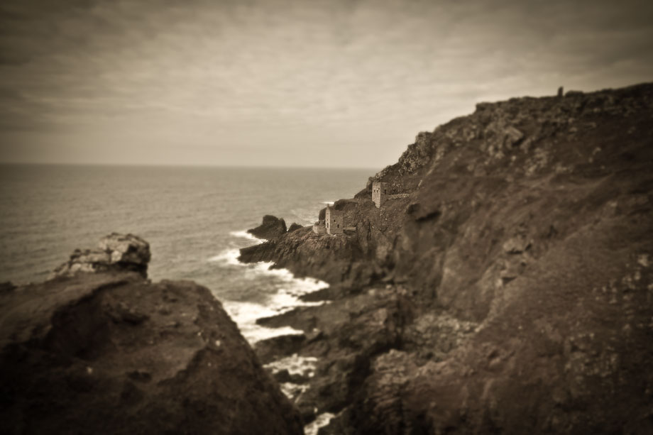 Seascape with Botallack Mine