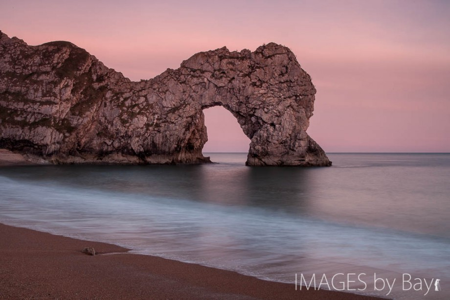 Sunset Image at Durdle Door