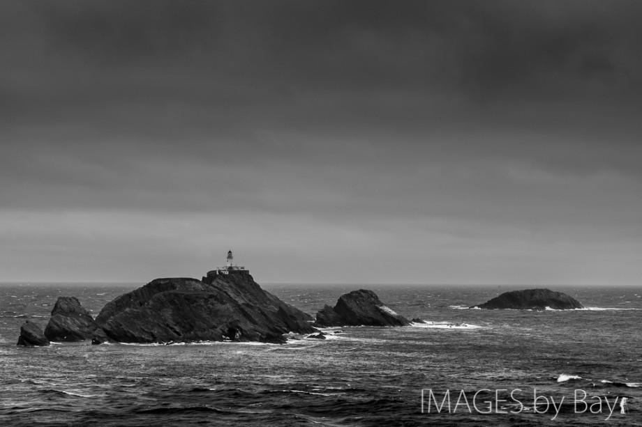 Black & White Lighthouse Photo