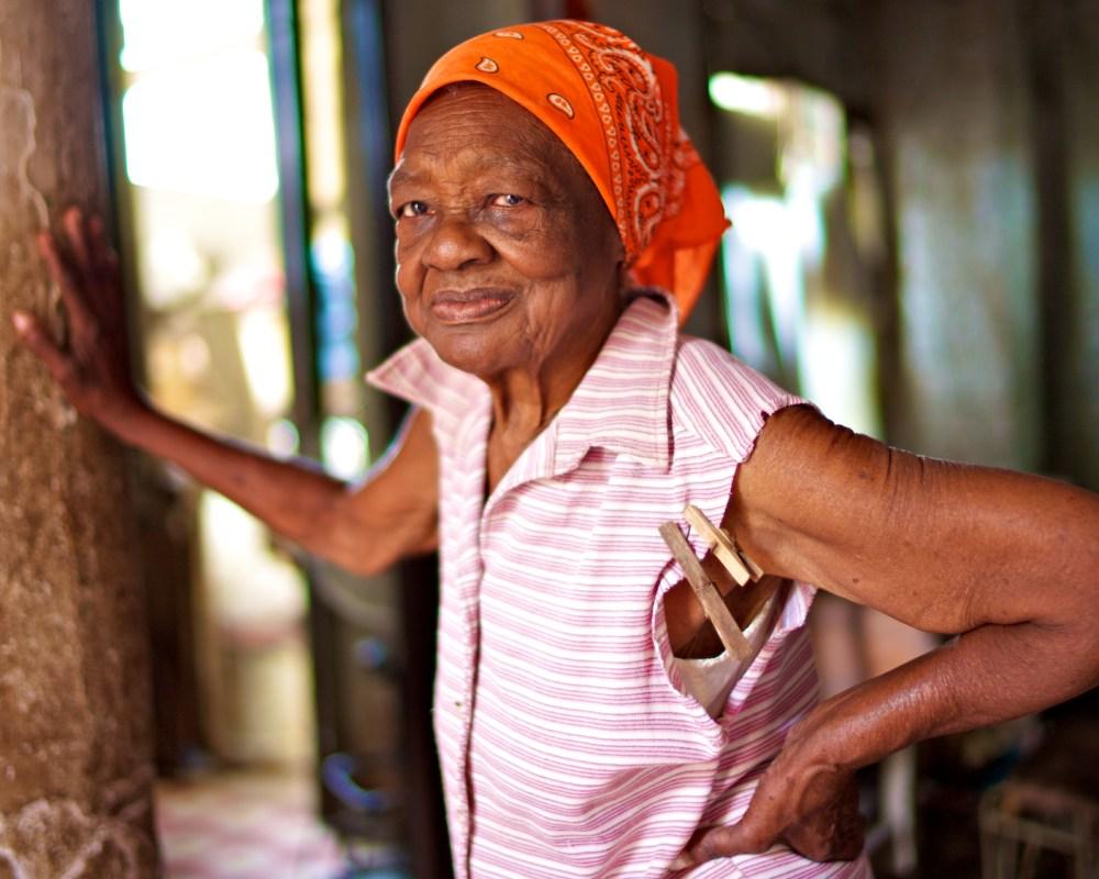 Ladie from Old Havana