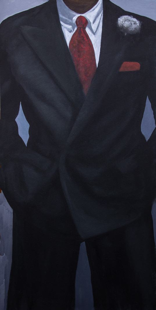 Martin Bruinsma Suit Painting Confidence