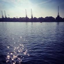 Docklands morning, London