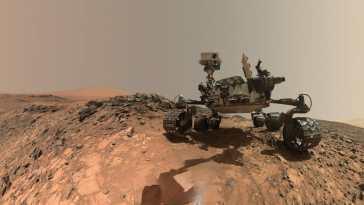 curiosityrover buckskinpanorama pia19808 El 'Curiosity' revela que Marte no cuenta con el CO2 mínimo para la existencia de un lago de agua líquida