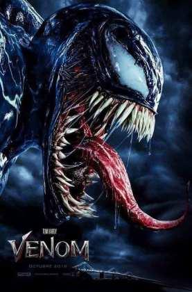 "Poster for the movie ""Venom"""