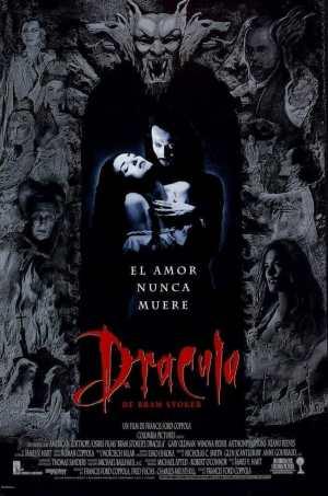 "Poster for the movie ""Drácula de Bram Stoker"""