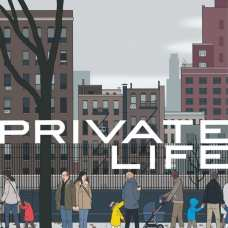 "Poster for the movie ""Vida privada"""