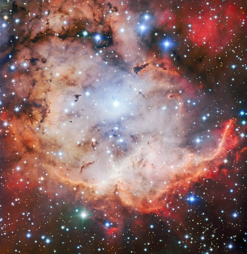 NGC 2467: El Pirata de los Cielos Australes