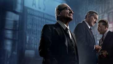 MV5BZWM5OGIwYjUtNWYyNy00NGQyLThmZTQtMGQ3NjJhNzFhZTE1XkEyXkFqcGdeQXVyNDIyNjA2MTk@. V1 El Irlandés (2019): Scorsese Recordando a Scorsese