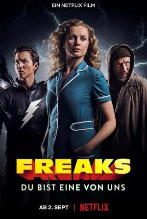 Freaks: 3 Superhéroes (2020). Película Netflix