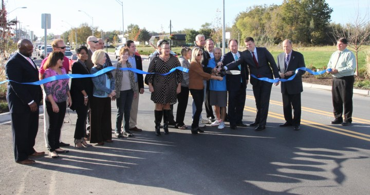 "135th Street Called ""A Jewel in South Kansas City"" at Ribbon Cutting"