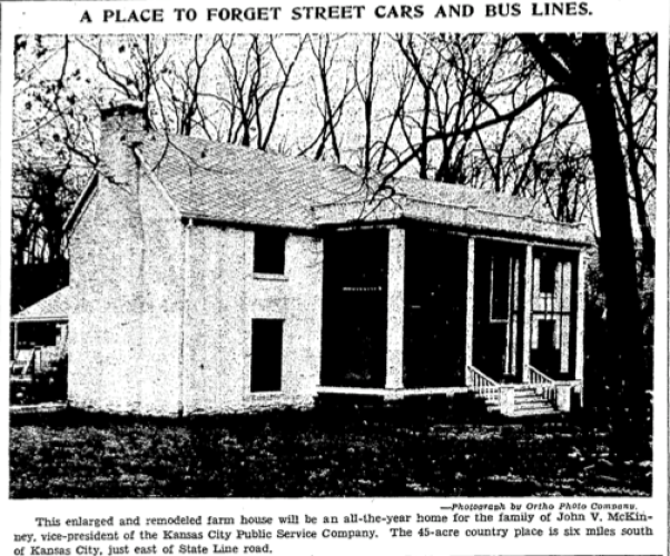 Historic home newspaper