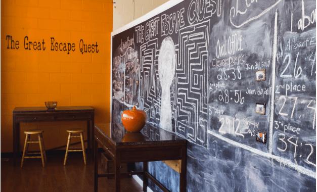 The Great Escape Quest, Grandview's Escape Room