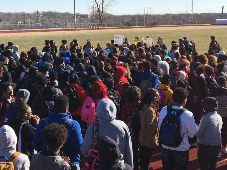Center students walkout