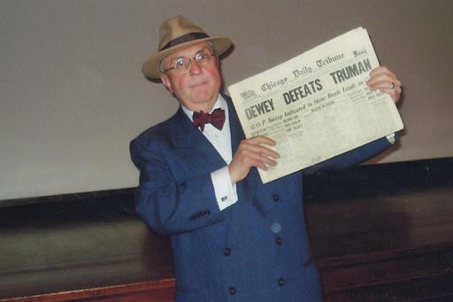 Truman impersonator