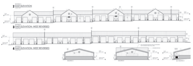Garage elevations
