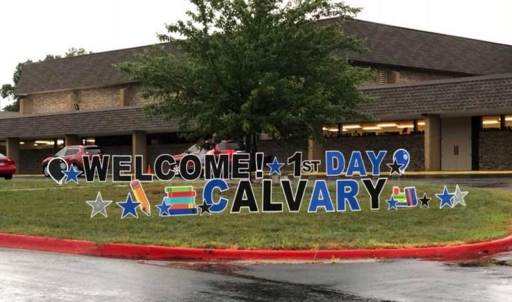 Calvary Lutheran BAck to School