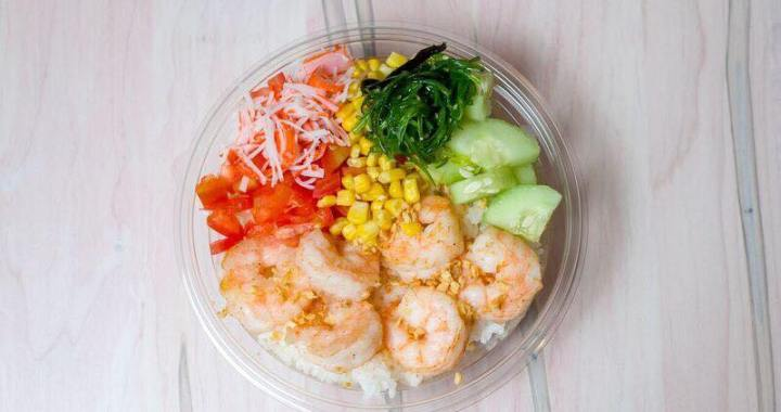 Urban Bowl Grill & Poke shares space with Freezing Moo on State Line