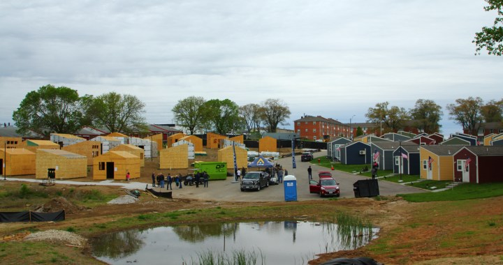 Veterans Village enters final construction of tiny homes