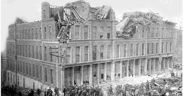 When a devastating cyclone hit in 1886