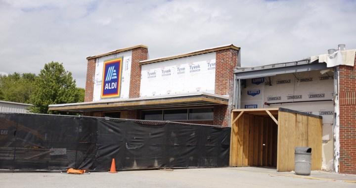 Aldi's on Blue Ridge undergoes expansion