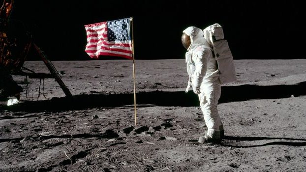 Apollo 11 moon walk revisited at Red Bridge Library