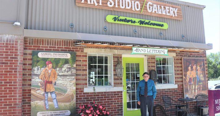 Artist charts KC history at Waldo gallery