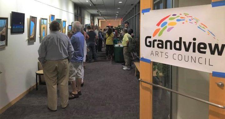 Grandview Arts Council holds exhibit opening, seeks new members