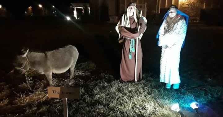 Drive-thru Living Nativity at First Baptist