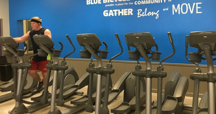 Scavenger hunt fundraiser for Blue Bicycle Fitness