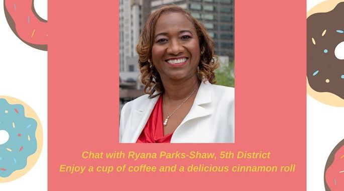 Big Momma's Bakery hosts Coffee with 5th District City Councilwoman