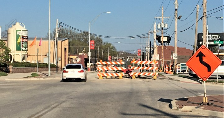 135th Street reconstruction on track for Wednesday completion