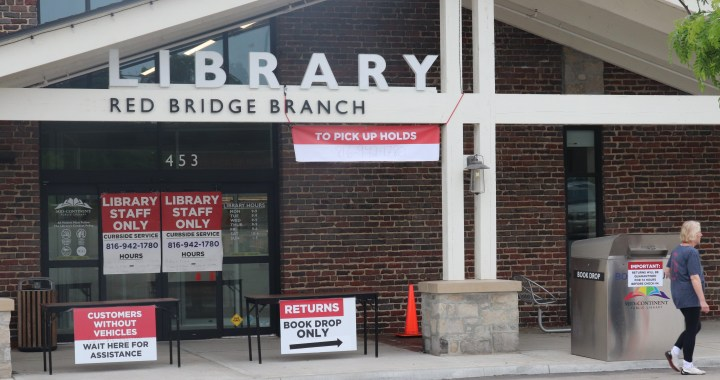 Mid-Continent Libraries offer curbside service for now, reopening remains mystery