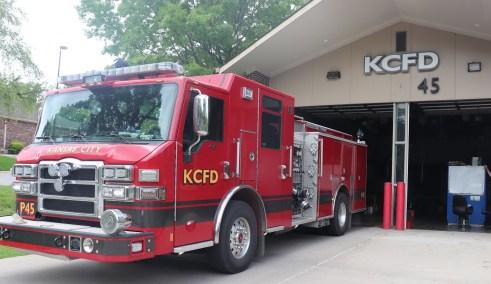Fire truck 45
