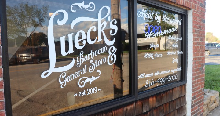 Lueck's BBQ & General Store offers a slice  of yesteryear in downtown Grandview
