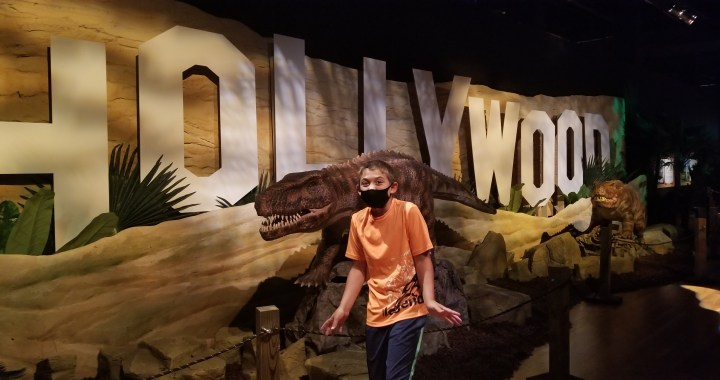 On a cross-country adventure with dinosaurs, now at Union Station