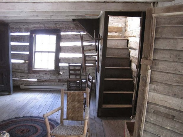 Bonniefield cabin interior