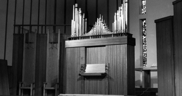Pipe Organ No. 61 donated to Lutheran High School