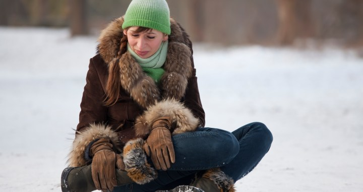 How to avoid injury in winter weather
