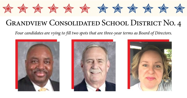 Know your Grandview School District School Board candidates