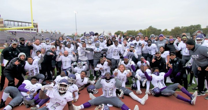 It's a first! Avila football gets conference championship title