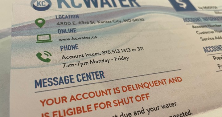 Water bill help is available