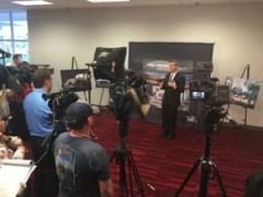 CEO of SEMA at press conference