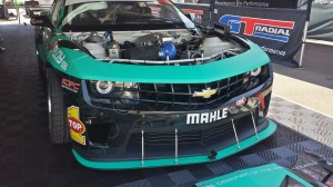 Conrad Grunewald captured top honors in this past weekend Long Beach grand Prix Formula Drift challenge with his Mahle – equipped late model Camaro.