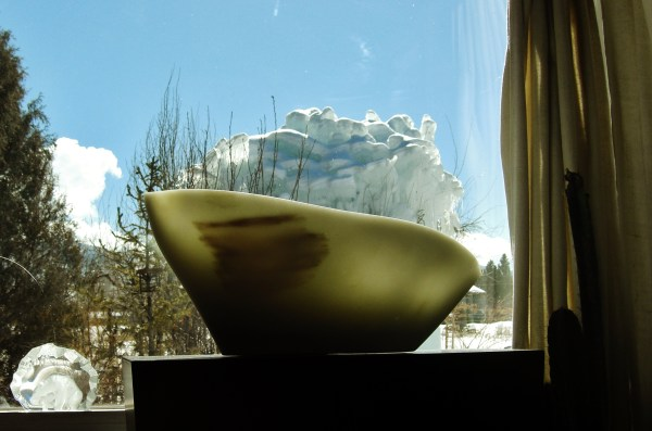 The Ice Palace sinks behind Titanic, The Maiden Collection, Colorado Yule Marble Sculpture at martincooney.com